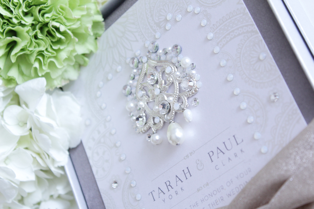Paris To Bombay Crystal And Pearl Metallic Boxed Wedding